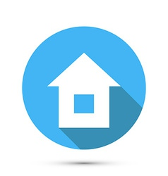 Flat Style Home Icon vector