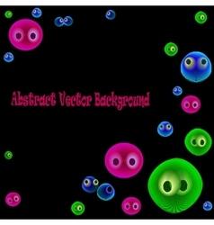 funnyBubbles vector image