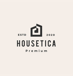house home mortgage roof architect hipster vector image