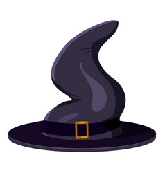 Magic hat icon cartoon style vector