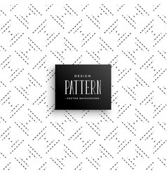 Minimal subtle dots line pattern background vector