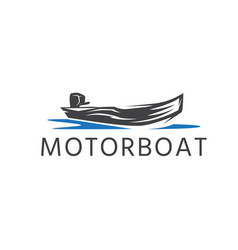 Simple template logo icon abstract motor vector