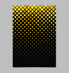 square pattern poster template - mosaic tile vector image