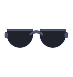 Sunglasses fashion accesorie vector