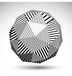 Symmetric spherical 3D technology perspecti vector