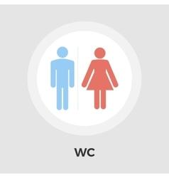 WC Icon vector image