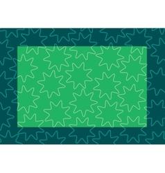 background frame green vector image