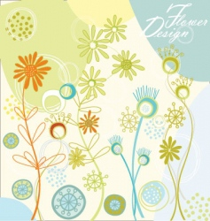 spring design vector image vector image