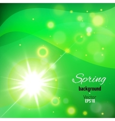 Abstract background for spring time vector image