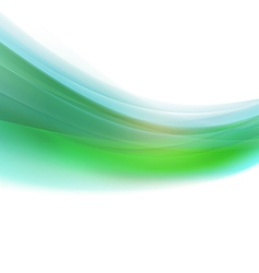 Abstract colorful smooth curve background vector