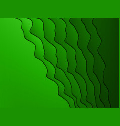 abstract wavy background for design vector image
