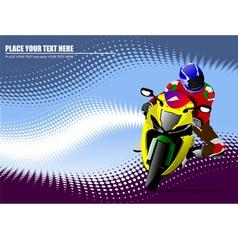 al 0934 moto 01 vector image