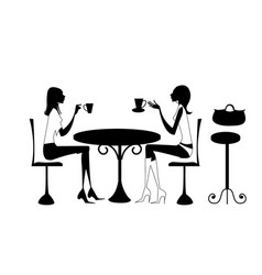 Business deal silhouette woman character vector