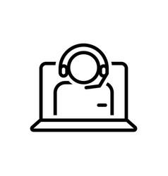 Callcenter operator vector