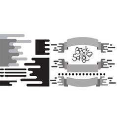 flat design elemens set vector image
