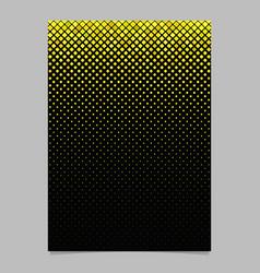geometrical pattern poster design - mosaic vector image