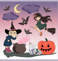 Halloween halloween color vector