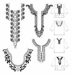 Muslim shirt vector image