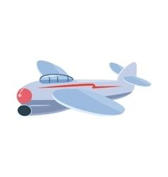 Small plane icon cartoon style vector image vector image