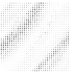 Radial dot pattern or halftone background vector