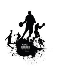 Sportsperson silhouette vector image vector image