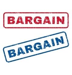 Bargain rubber stamps vector