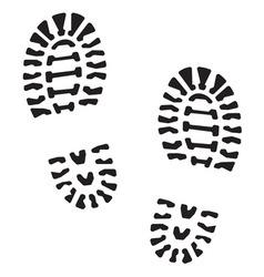 Otisak cipela4 resize vector image vector image
