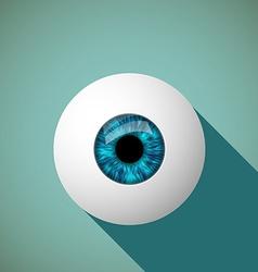Icon eye Stock vector image vector image