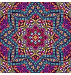Abstract colorful mandala pattern ornamental vector