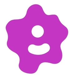 Ameba icon vector