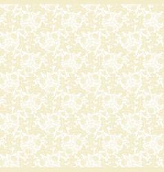 Beige dandelion seamless pattern vector