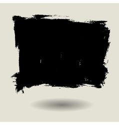 Grunge brush bg blank vector