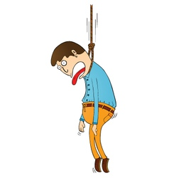 Hanging punishment vector