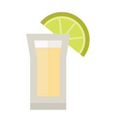 Lime drink vector image