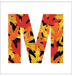 M Letter vector
