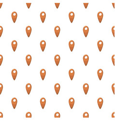 Map location marker pattern vector