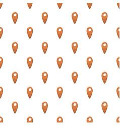 Map location marker pattern vector