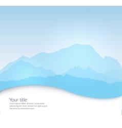 Mont Blanc vector