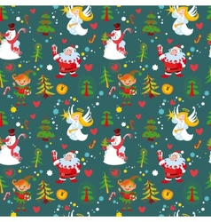 new years background christmas wallpaper vector image