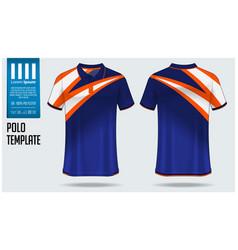 Polo t-shirt template design vector