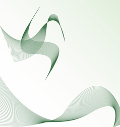 background with abstract bird vector image
