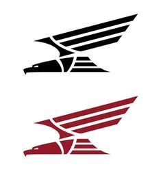 predatory eagle for tattoo design vector image