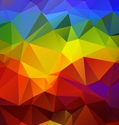 Abtract colorful geometrical background vector image