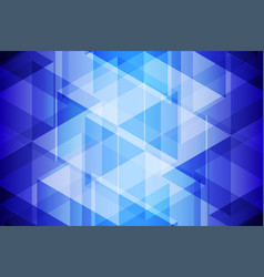 blue geometric light and shadow abstract vector image