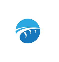 Bridge icon logo template vector