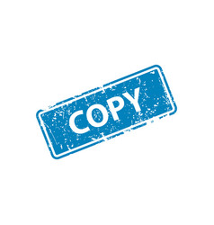 copy stamp texture rubber cliche imprint web or vector image