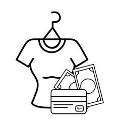 ecommerce online shopping cartoon vector image