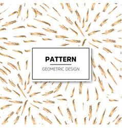 Gold pattern ornament vector
