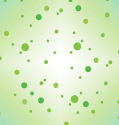 Green dots vector image