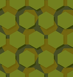 Military polygonal seamless pattern Army abstract vector image